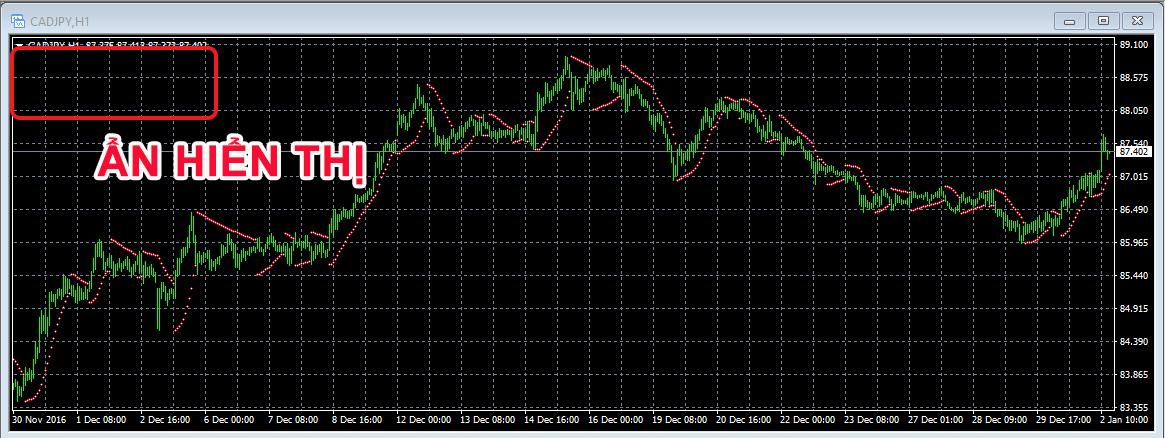 ẩn hiển thị xm mt4 one click trading