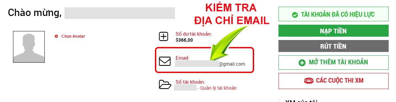 xác nhận thư điện tử
