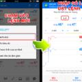 Cách đặt lệnh trên ứng dụng MT4 smartphone (phiên bản Android)